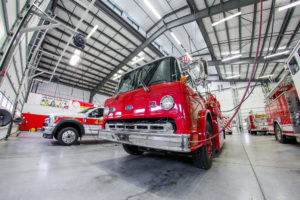 Crete Township Fire Protection District Fire Truck