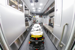 Crete Township Fire Protection District Inside the Ambulance