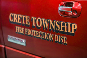 Crete Township Fire Protection District Car Graphic