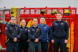 Crete Township Fire Protection District Female Fire Fighter Crew