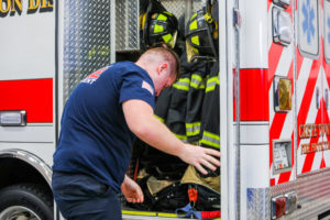 Crete Township Fire Protection District Fire Fighters