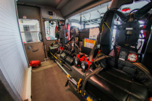 Crete Township Fire Protection District Vehicle Inside