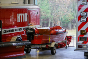 Crete Township Fire Protection District Boat