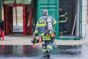 Crete Fire Protection Team Training Carrying Gear