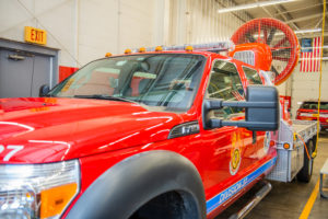Crete Township Fire Protection District Truck