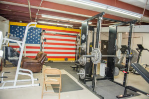 Crete Township Fire Protection District Weight Room