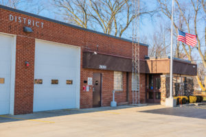 Exterior of the fire station
