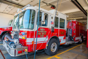 Crete Township Fire Protection Fire Truck