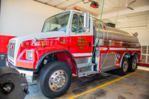 Crete Township Fire Protection Truck