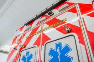 Crete Township Fire Truck Back