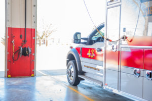 Crete Township Fire Vehicle
